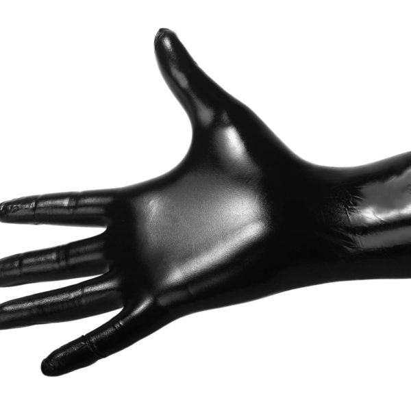 Black Nitrile Examination Gloves - Large - 100 count