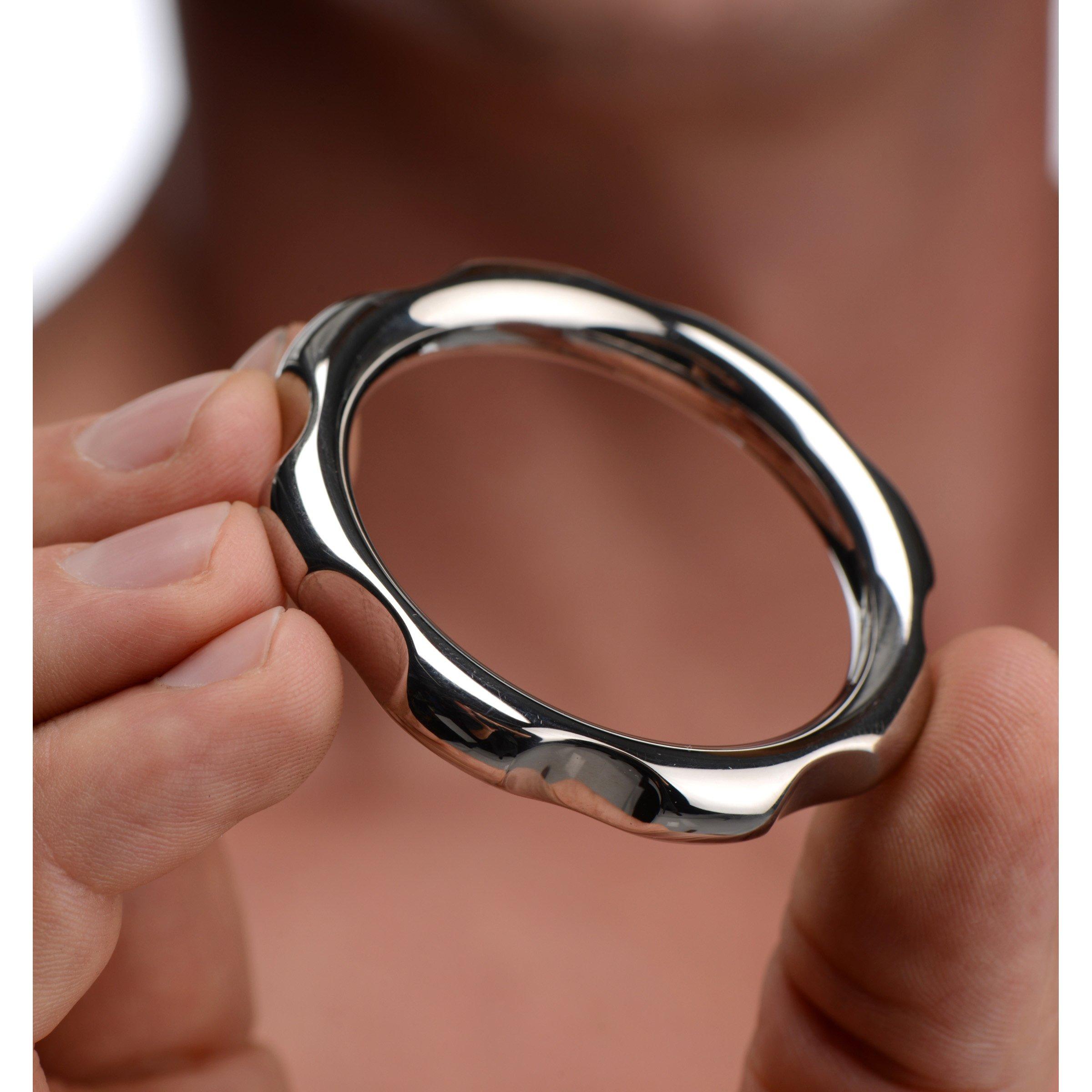 Gear Head Metal Cock Ring- 1.75 inch