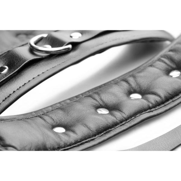 Strap Linked Bondage Cuffs - Wrist