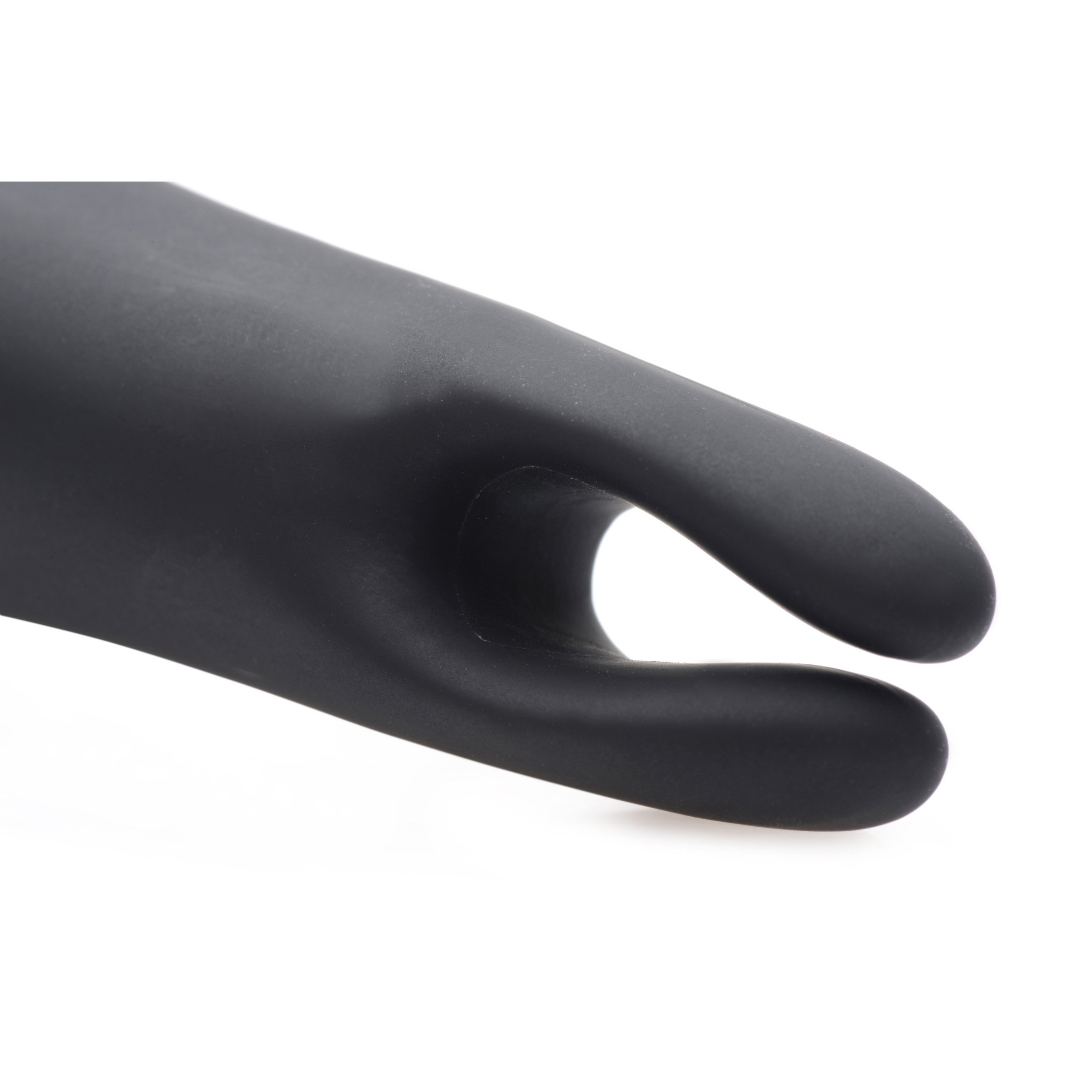 Dual Diva 2 in 1 Silicone Massager- Black